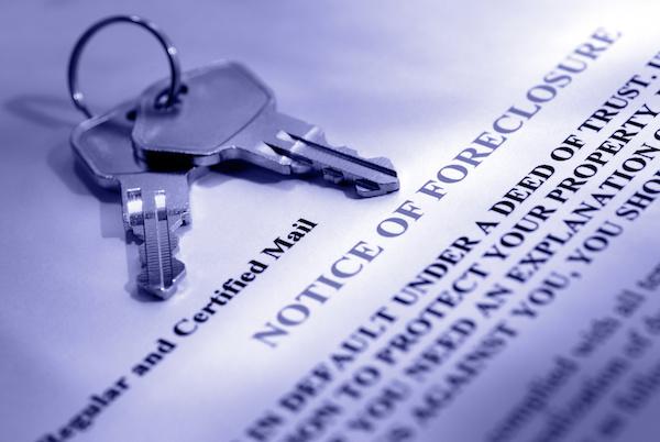 Lien Foreclosure, notice, keys